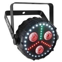 Chauvet FXpar 3 Multiple FX Par-Can Light RGB UV LED Wash + Strobe 2Yr Warranty